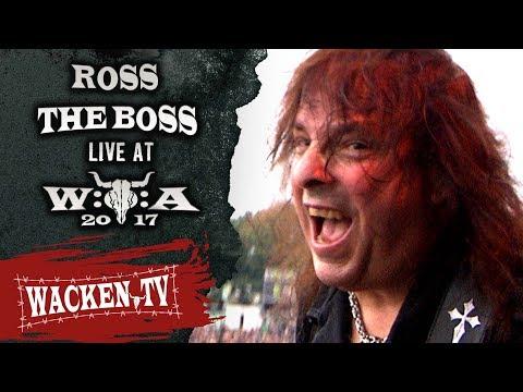Nuevas fechas de la Gira de Ross The Boss en 2022
