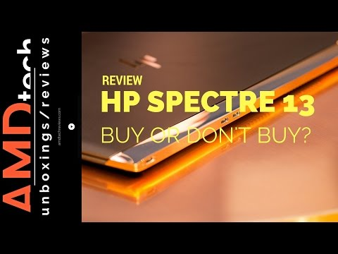 HP Spectre 13 Review: Buy or Don't Buy?