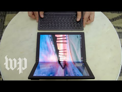 First look: Lenovo's new ThinkPad laptop with a foldable screen is a sign of things to come
