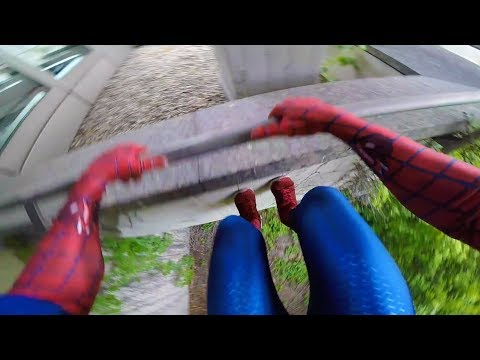 SPIDERMAN Parkour POV - Real Life
