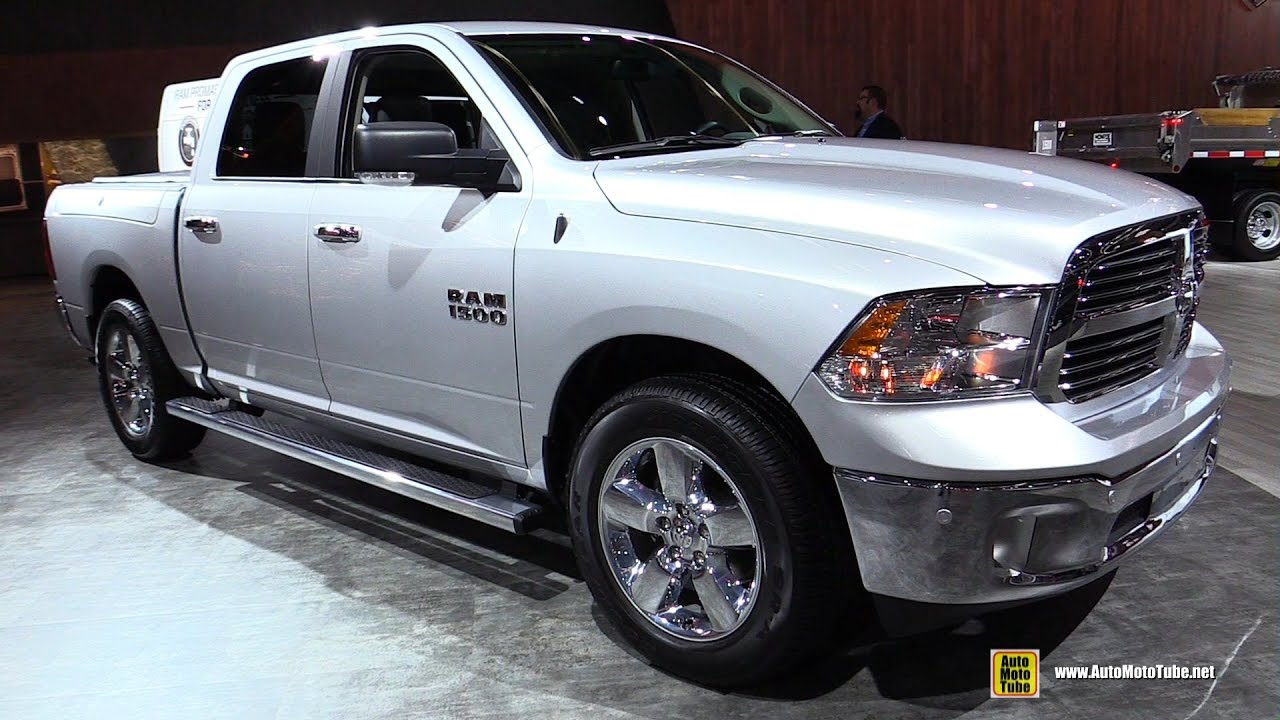 2017 ram 1500 big horn exterior and interior walkaround 2017 detroit auto show youtube. Black Bedroom Furniture Sets. Home Design Ideas