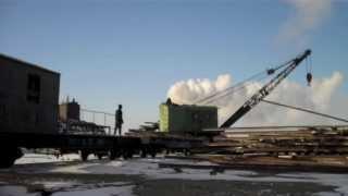 Sandaoling Coal Mine #4 - 20 Degrees Below Zero - Steam Crane