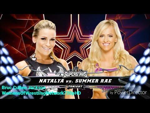 WWE Superstars 2016.05.27 Natalya vs Summer Rae