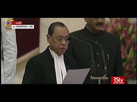 Justice Ranjan Gogoi takes oath as new CJI