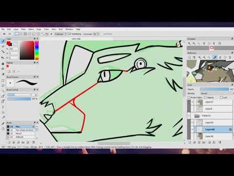 How I Animate - Fire Alpaca