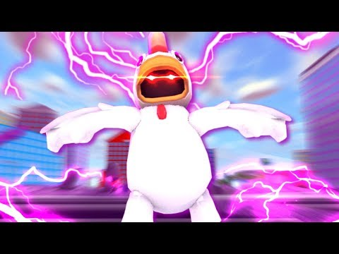 Giant Chicken Boss Fight In Mad City Youtube