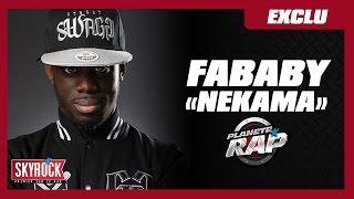 """Fababy """"Nekama"""" en live dans Planète Rap !"""