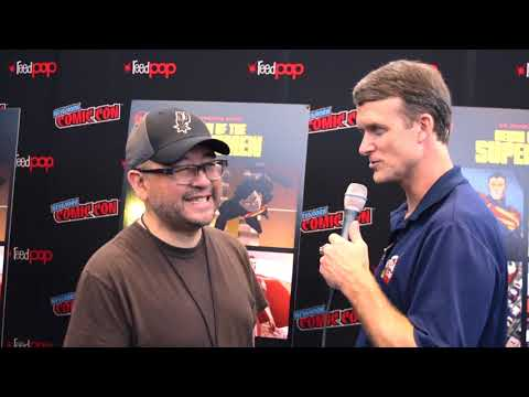 Sam Liu (Director) interview at NYCC for Reign of the Supermen Mp3