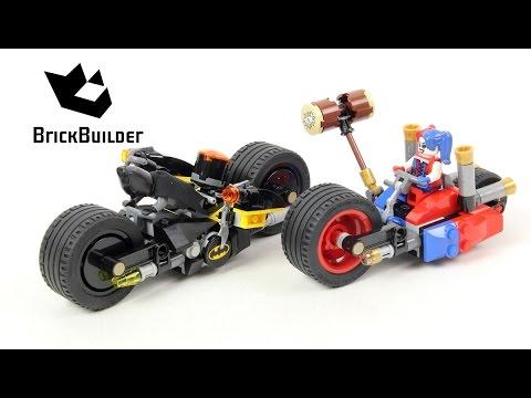 Lego Super Heroes 76053 Gotham City Cycle Chase - Lego Speed Build