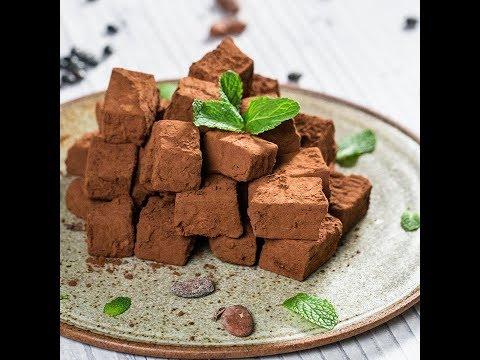 Trufe de ciocolată vegane