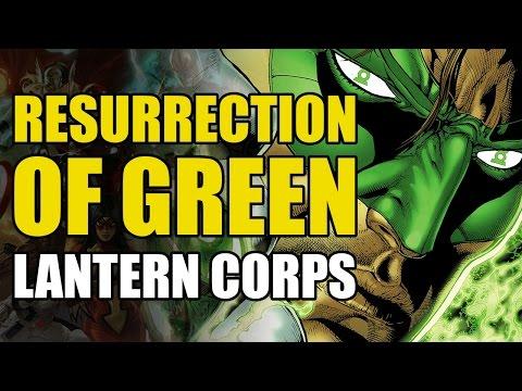 Resurrection of The Green Lantern Corps (Green Lantern Corps Vol 1: Recharge)