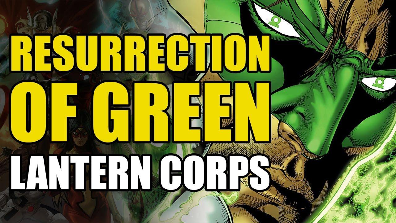 resurrection of the green lantern corps green lantern corps vol 1