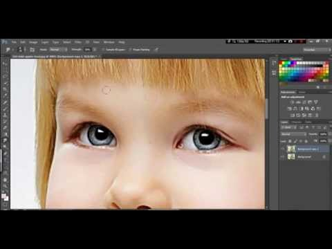 Blend and Retouch Soft Light Tutorial Photoshop
