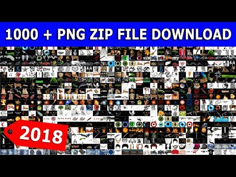 Part 3 ) New 2018 Png Zip File || All New Png || 1000 Png