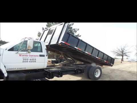 1996 Chevrolet Kodiak dump truck for sale | no-reserve Internet auction  March 1, 2017