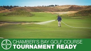 CHAMBERS BAY GOLF COURSE – BAYER TOURNAMENT READY