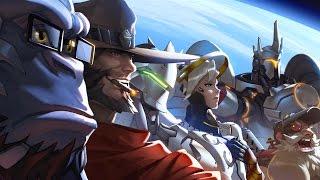 Стрим Overwatch оцениваем бету новой игры от Blizzard