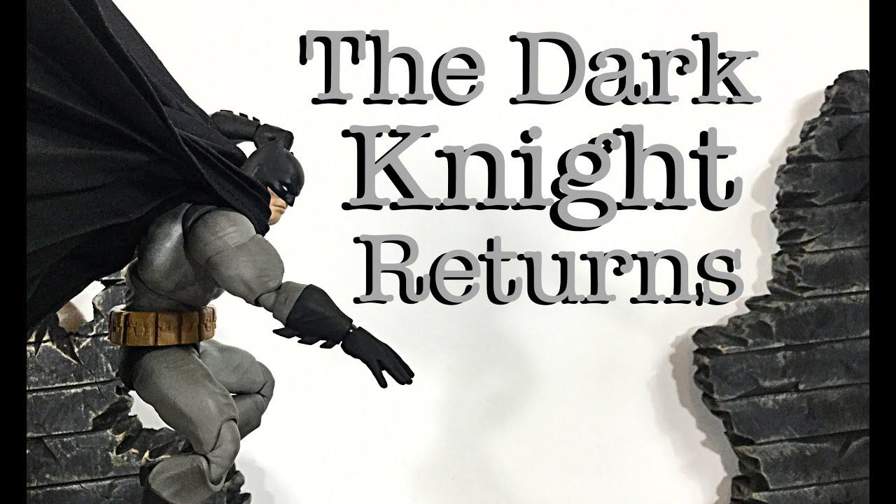 MAFEX Medicom Toys DC Comics The Dark Knight Returns BATMAN Action Figure Review