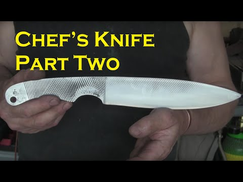 Chef's knife part two