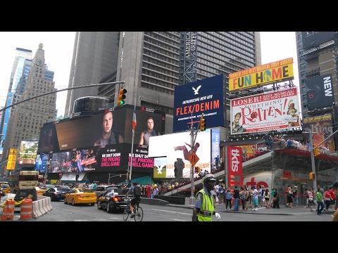 New York City Tour - Amerika Vlog #07 [FullHD]