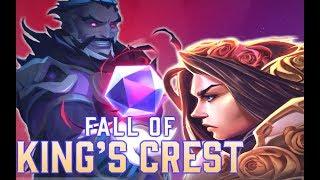HOTS Comic #3 Fall of Kings Crest | Lady of Thorns Kills Husband HOTS Halloween Skins! Orphea Next?