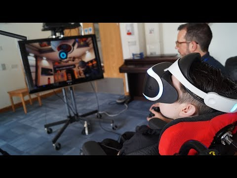 Virtual reality for children in hospices
