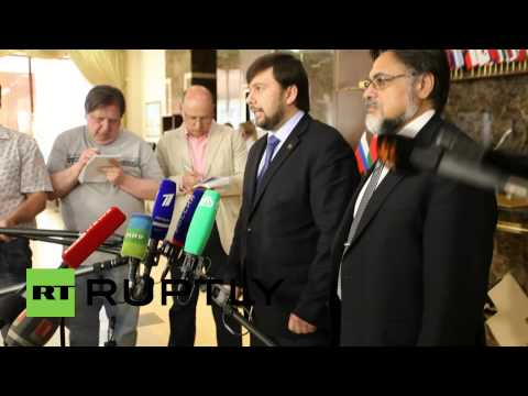 Belarus: Not Enough Achieved To Proceed With Truce In E. Ukraine Says DPR's Pushilin