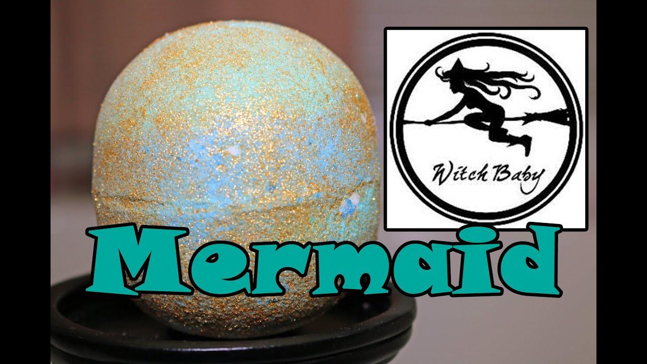 Witch Baby Soap - Mermaid Bath Bomb - DEMO - Underwater View ...