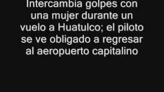Ale Guzmán pelea en avión, la bajan y la remiten