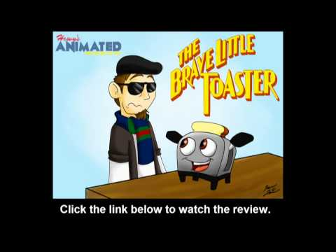 Hewy's Animated Movie Reviews #72 The Brave Little Toaster Trailer