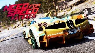 Need for Speed Payback UPDATE PL - PAGANI HUAYRA NATALLI - ZAGINIONE AUTA