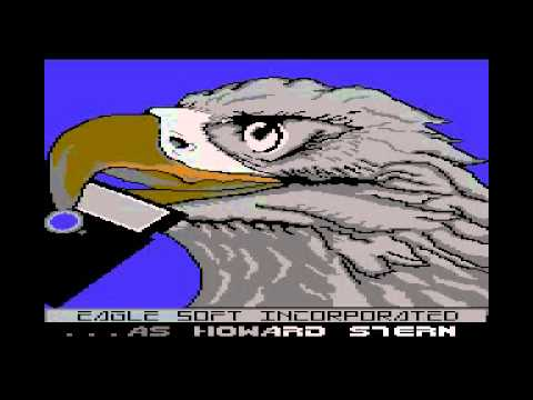 "C64 ESI / Eagle Soft Incorporated cracktro ""4x4 Racing"" |"
