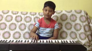 Jan Gan Man on Keyboard - Parth Manoria