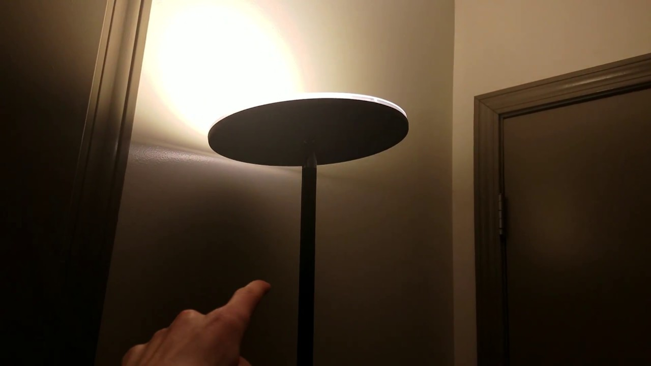 Vacnite 71 Inch LED Torchiere Bedroom Floor Lamp Revised Review ...