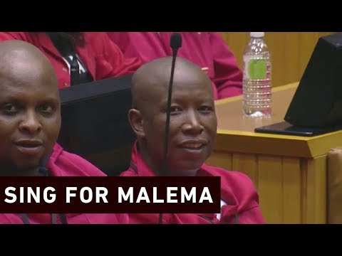 Ramaphosa will sing 'Thuma Mina' if Malema wins elections