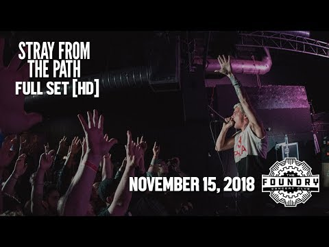 Stray From The Path - Full Set HD - Live at The Foundry Concert Club Mp3