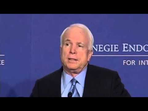 Senator John McCain on the Future of the U.S.–India Relationship