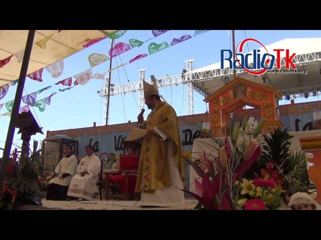 Celebración Eucarística a la Virgen de la Candelaria, Huixcolotla.