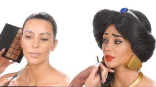 kim kardashian cant fool north west with princess jasmine makeover