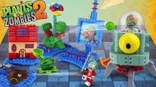 Part 4 - Dr Zomboss Zombot Tomorrow-tron Far Future Plants Vs Zombies PVZ 2 Lego Coconut Cannon DIY thumbnail