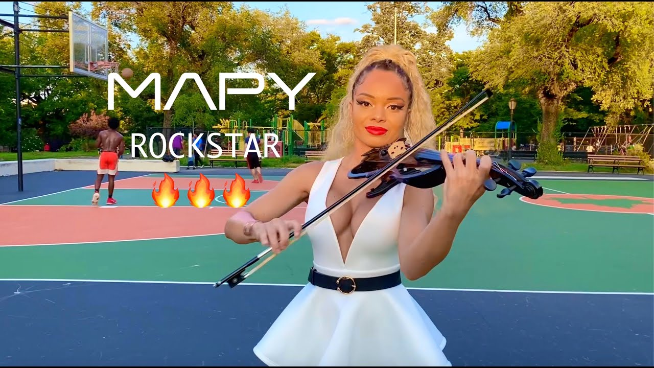 Download MAPY 🎻🔥 - Rockstar by Dababy ft. Roddy Ricch (violin cover)