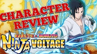 Sasuke Character Review  - Naruto x Boruto Ninja Voltage