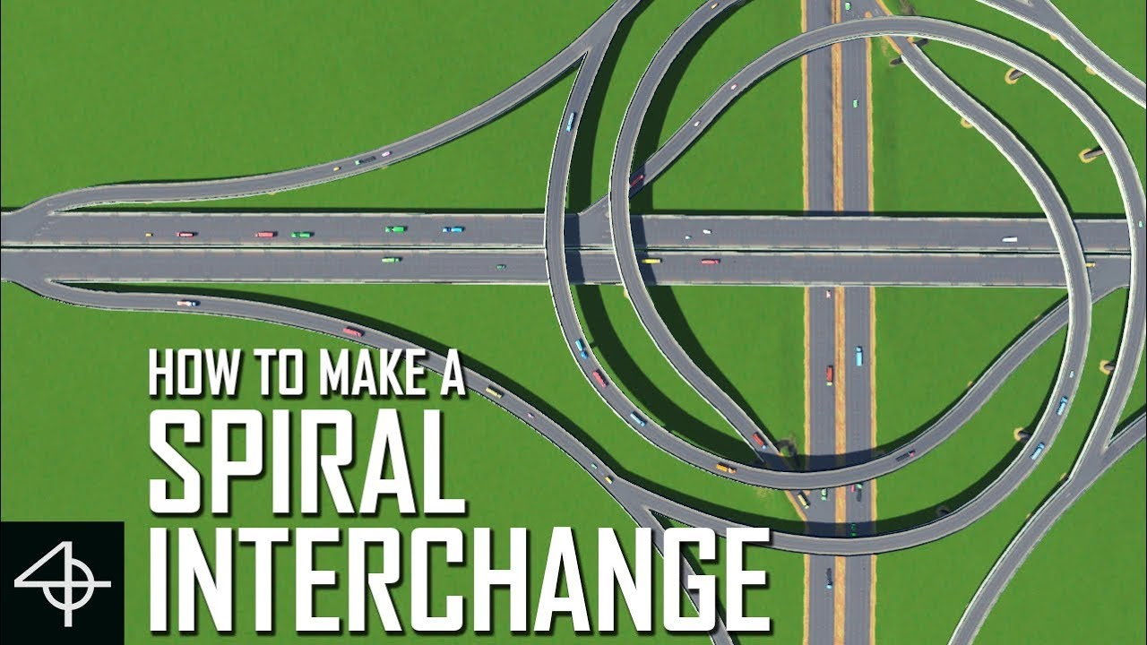 cities skylines how to make roundabouts
