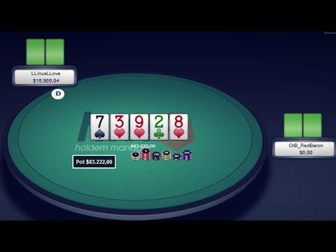 83222$ Pot LLinusLLove vs OtB RedBaron Piosolver Analysis