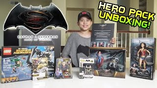 BATMAN vs. SUPERMAN Surprise HERO PACK Unboxing!