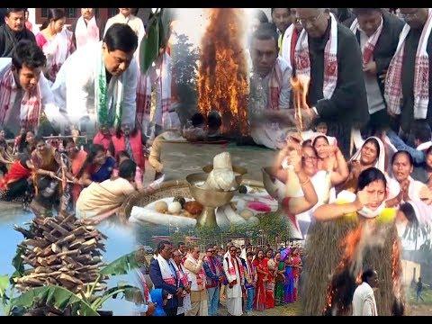 Assam Celebrates Magh Bihu With Traditional Fervour