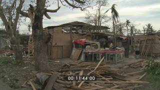 Super Typhoon Megi Hits Philippines As Cat. 5 Stock Footage Screener - 1920x1080 30p thumbnail