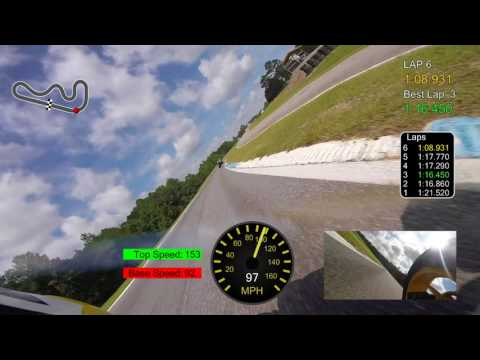 Roebling FMRRA Superbike Grande Corsa 6.25.2017 | Commentating My Own Races