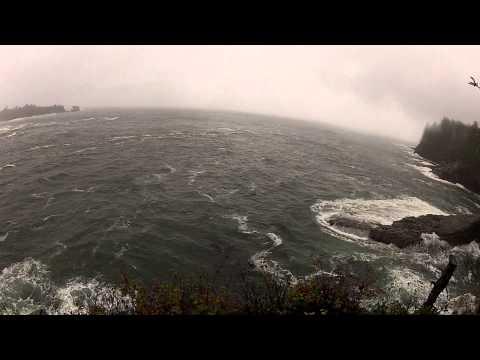 Cape Flattery on a rainy day.