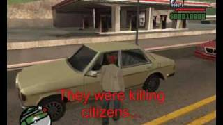 GTA SAMP: Fallen Angel server: the strongest gang